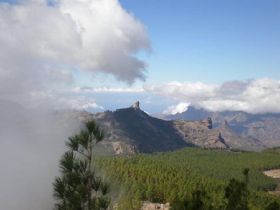 Maspalomas Princess Hotel: The mountains