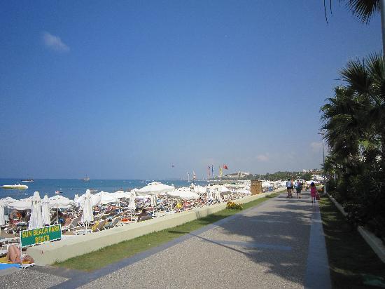 Sun Beach Hotel: Eigangsbereich des Hotels