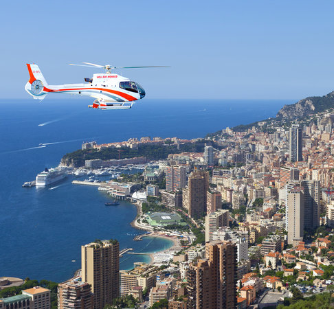 Monaco-Ville, Monaco: Monaco sightseeing flight