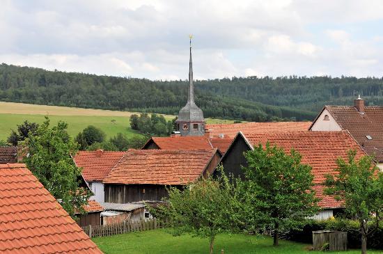 Gasthof Postkutsche: Blick auf Motten, Ortsteil Kothen
