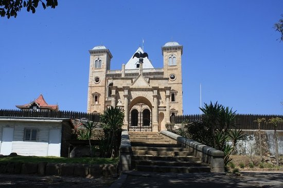 Antananarivo, Madagascar: As close to the palace as you can get.