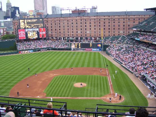Oriole Park at Camden Yards: ...from my seats in section #348.