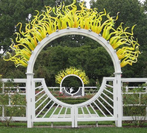 great gates - Picture of Missouri Botanical Garden, Saint Louis ...