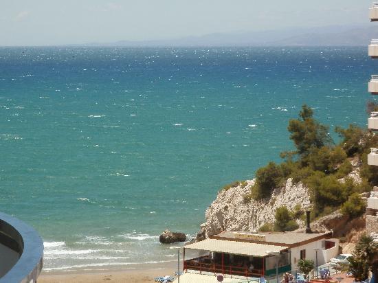 Font de Mar: Vue sur la mer depuis l'appartement.