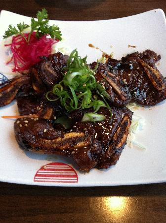Grilled Short Ribs - One of their many Korean offerings. - Picture ...