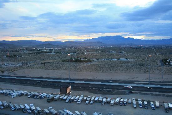 The Grandview at Las Vegas: Blick aus dem Flurfenster Richtung Westen