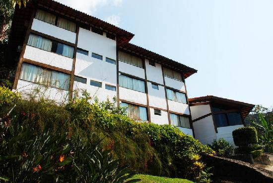 Hotel Coquille - Ubatuba: The main building and reception