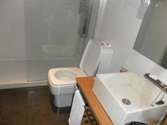เพทิท พาเลซ โพซาดา เดล ไพเน โฮเต็ล: bathroom