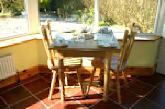 Dunguaire House : Dining room