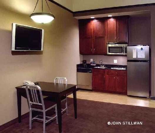 Kitchen Suite: HOMEWOOD SUITES BY HILTON INDIANAPOLIS-DOWNTOWN $159