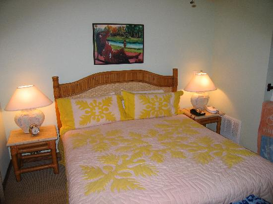 Wyndham Kona Hawaiian Resort : one of the bedrooms