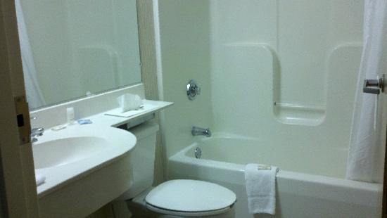 Microtel Inn & Suites by Wyndham Uncasville: Bathroom