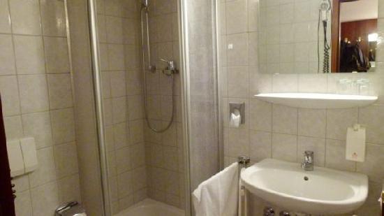 Waldhotel & Restaurant Bergschlosschen: Badezimmer