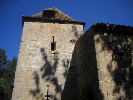 Moulin de Rocquebert: La tour du moulin