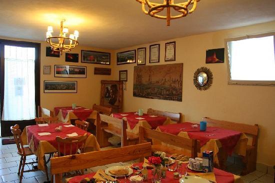 Villa Hirschen: Sala colazione