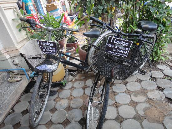 bike in front I lodge