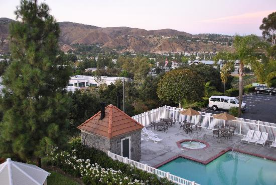 Ayres Suites Yorba Linda Mountain View From Rooms On The North Side