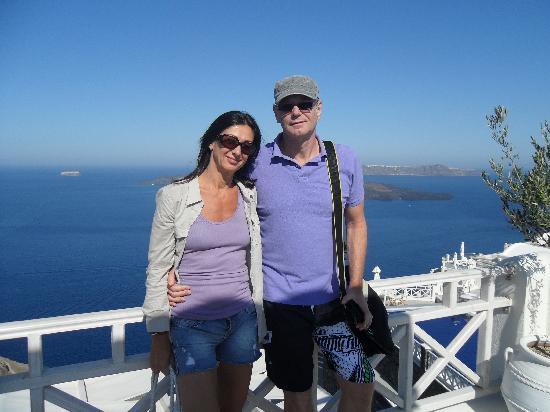 "Petit Palace Suites Hotel: ""Breath-taking Santorini"""