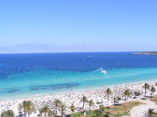 SENTIDO Castell de Mar: view from our room  1202
