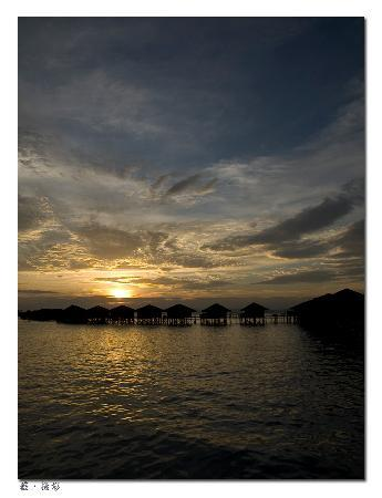 Sipadan Water Village : Sunset