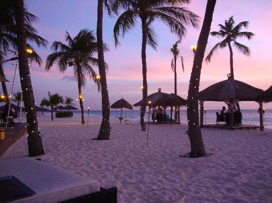 Bucuti & Tara Beach Resort Aruba: sitting at the Pirate's Nest - every sunset was gorgeous