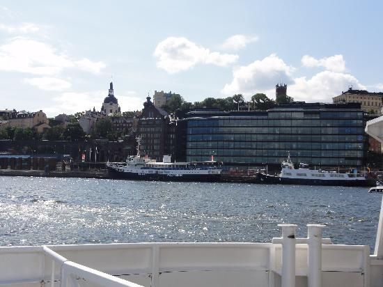 Gustav Af Klint Hotel/Hostel: From the Djurgarden ferry