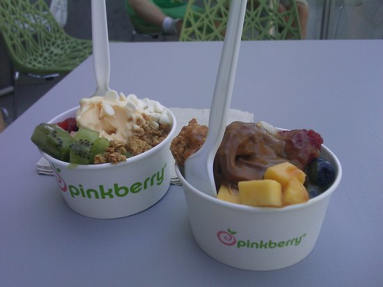 PinkBerry: our orders in a small size
