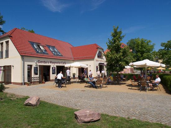 Gerda's Cupcake Cafe: Terrasse