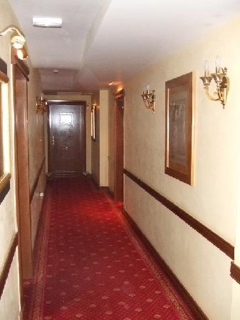 Hotel Niko: hallway
