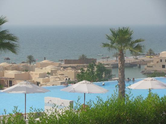 เดอะโคพโรทาน่ารีสอร์ท รอส อัลคอยมาห์: view over the resort from main lobby area