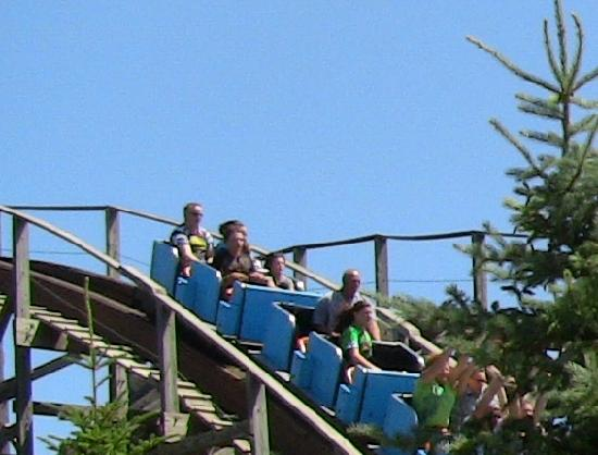 Silverwood Theme Park: Timber Terror