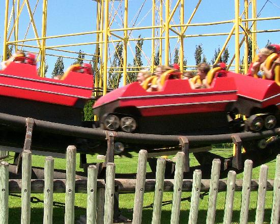 Silverwood Theme Park: Cork Screw