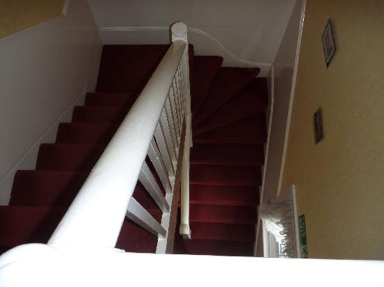 The Norman Guest House : stairs I mentioned!