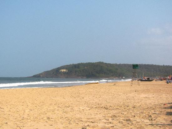 Estrela Do Mar Beach Resort: The beach in front