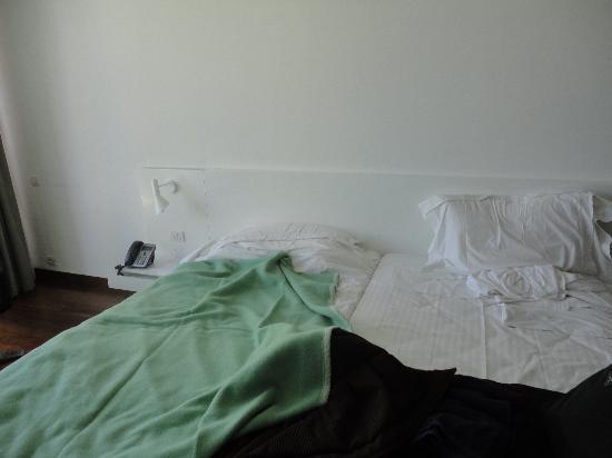Pousada Palacio Estoi: the bedroom,nice big bed