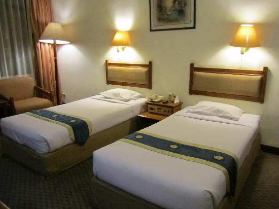 Sanno Hotel: Twin Size Bed