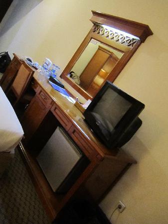 Sanno Hotel: Dresser Area