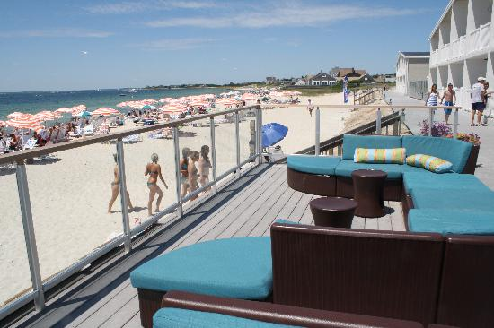 Sea Crest Beach Hotel The Deck Between Pool And