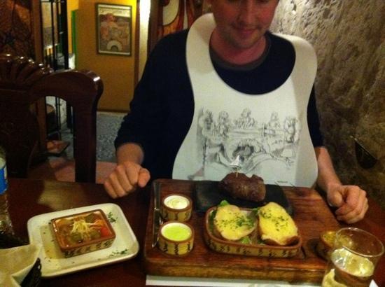Zig Zag Restaurant: boeuf argentin
