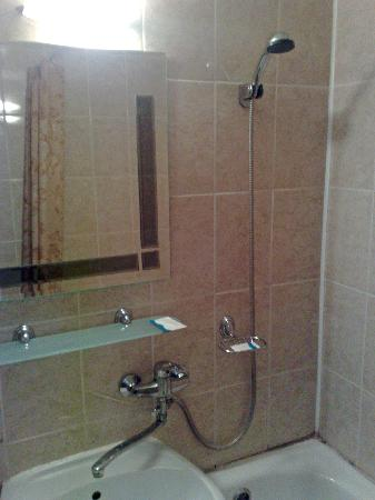 Tourist Complex Russia: Small bathroom