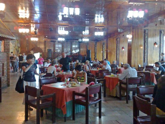 Tourist Complex Russia: Excellent breakfast beuffet in Soviet-era dining room