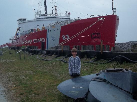 Icebreaker Mackinaw Maritime Museum Inc.: Ready to board, Captain.