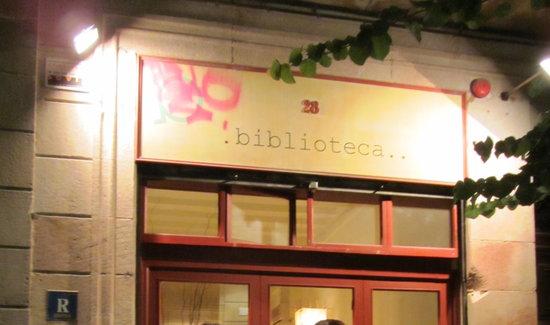 La Biblioteca Gourmande Restaurant : Biblioteca - excellent food