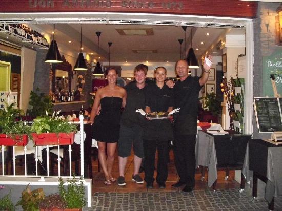 Restaurante Don Antonio : 16.07