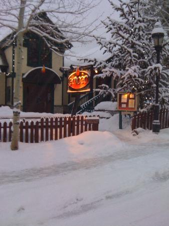 Ember: Adams Street entrance winter