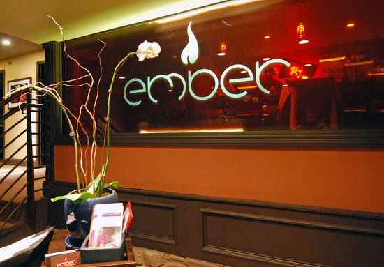 Ember : Stained glass foyer