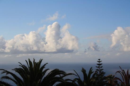 Residencial Rolando: Blick von der Terrasse