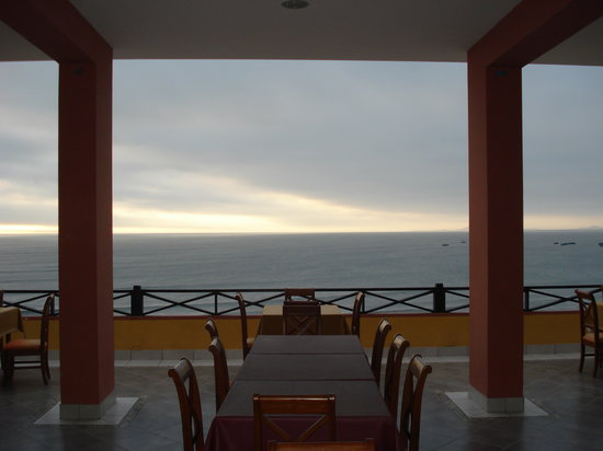 Puerto Malabrigo, Peru: Dining Area on Roof