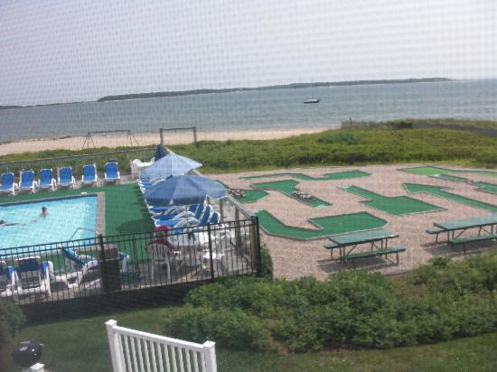 Green Harbor on the Ocean: view from the bedroom