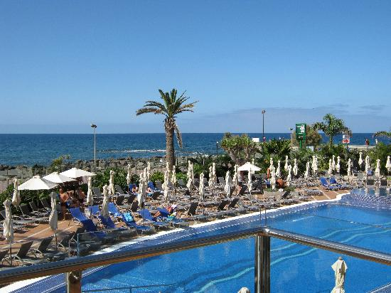 IFA Faro Hotel: View from the pool bar